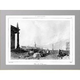 1838 Площадь и здание Адмиралтейства