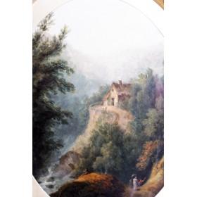 Картина Прогулка. Англия, 1778-1811. Художник Thomas Stowers.