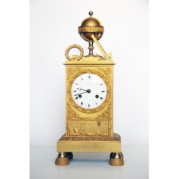 Антикварные настольные часы. Англия, XIX век.