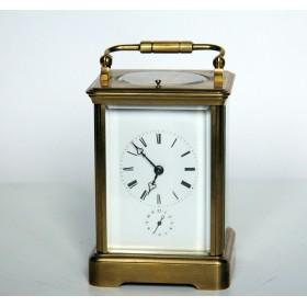 Антикварные каретные часы. Англия, XIX век.