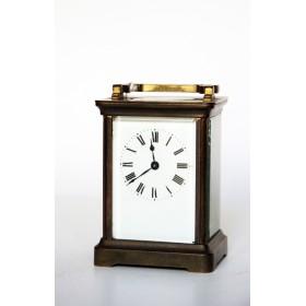 Старинные каретные часы. Англия, XIX век. Ferguson Company.