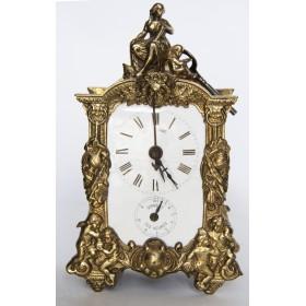 Старинные настольные часы. Франция, XIX век.
