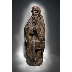 Старинная скульптура апостола Андрея Первозванного