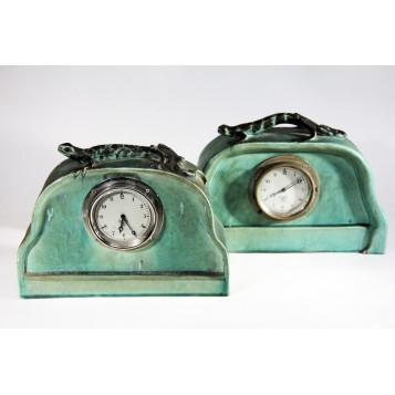 Редкие антикварные английские часы Ар Деко с механизмом Smith Sons по заказу Барона Барнса