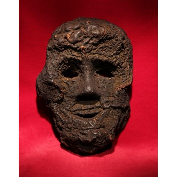 Антикварная ритуальная маска Йети