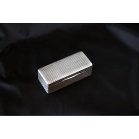 Старинная русская серебряная табакерка 19 века в подарок коллекционеру серебра
