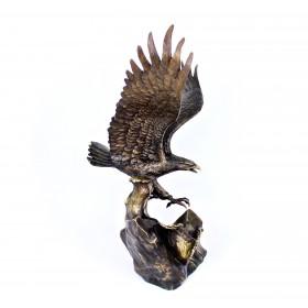 Интерьерная пластика. Бронзовая статуэтка Орел. Европа, 20 век