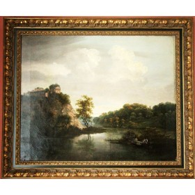 Картина Руины. Голландия, XVIII век.