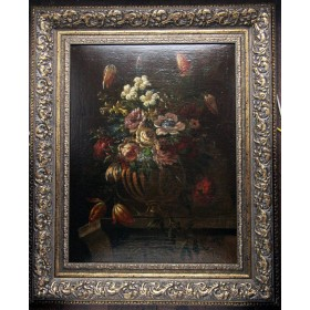 3759 Старинный натюрморт 17 века Голландия