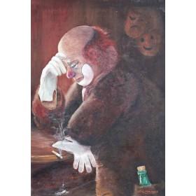 Картина Печальный клоун