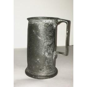 Старинная серебряная кружка рубежа XVIII-XIX столетий, созданная в Шеффилде