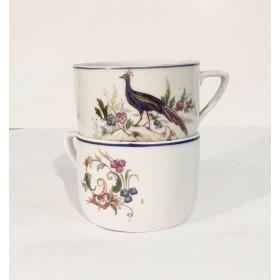 Две чашки дулевского фарфора