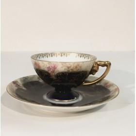 Чайная пара баварского фарфора