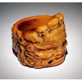 Старинное ритуальное кольцо Fudo Myoo