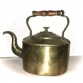 Викторианский латунный чайник