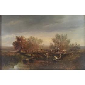 Старинный английский пейзаж