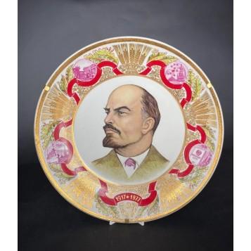 """Коллекционная тарелка """"Великий зодчий"""""""