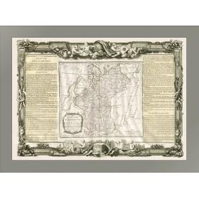 Старинная карта России Европейской