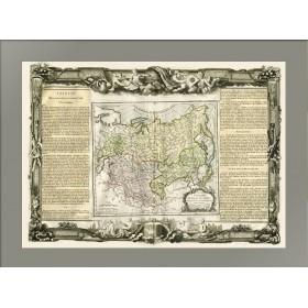 Карта России Азиатской и Великой Тартарии 1771 года