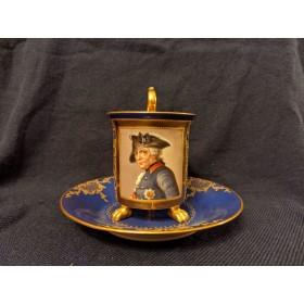 Фридрих Великий и Елизавета Кристина. Две чайные пары