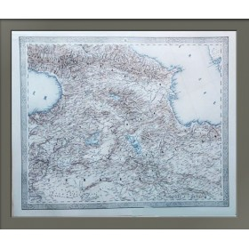 Антикварная карта Кавказа