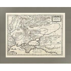 Старинная карта Таврии и Крыма