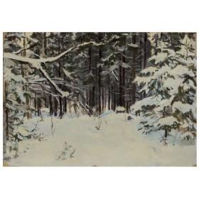 Картина Зимний лес
