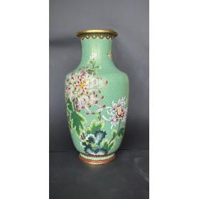 "Антикварная китайская ваза клуазоне ""Цветы"""