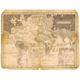Антикварная Карта обитаемого мира