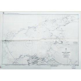 Антикварная морская карта Азовского моря