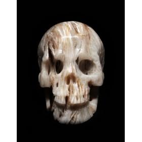 Антикварный ритуальный череп Лёд