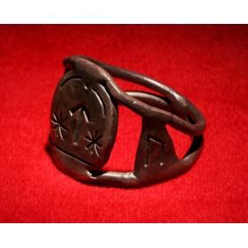 Антикварное кольцо скандинавского Тула Teiwaz