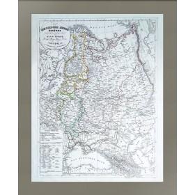 Карта Европейская Россия