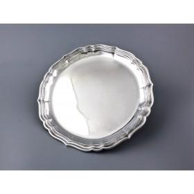 Сервировочный серебряный поднос