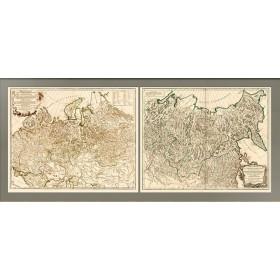 Российская империя. Генеральная карта