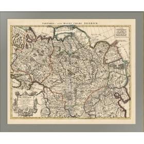 Карта Великой Тартарии 1733 года выпуска