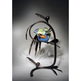 Фарфоровая статуэтка Райская птица