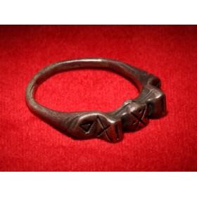 Антикварное кольцо скандинавского Тула Gebo