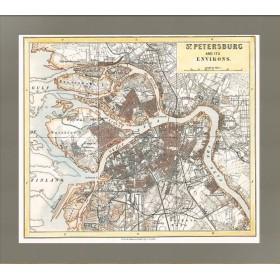 Карта План Санкт-Петербурга
