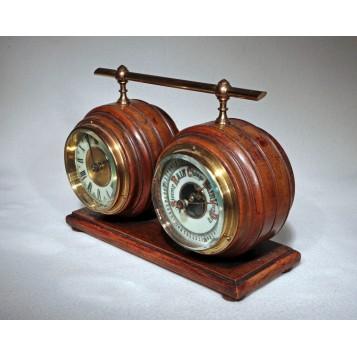 Старинный часовой гарнитур Jin and Ale