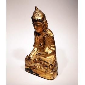 Старинная статуэтка Будды