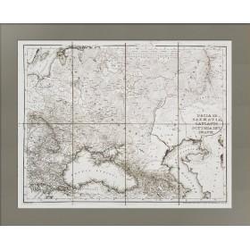 Историческая карта юго-западной части Российской империи во времена античности