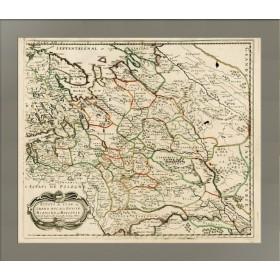 Карта Владения Царя или Великого Князя Белой Руси или Московии