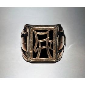 Старинное кольцо с монограммой AG