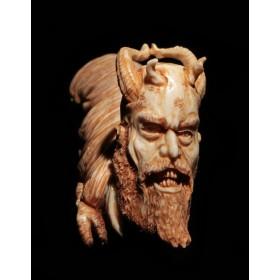 Старинное окимоно демон Аманодзяку