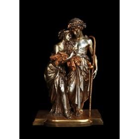Скульптура «Расставание» братья Моро (Moreau)