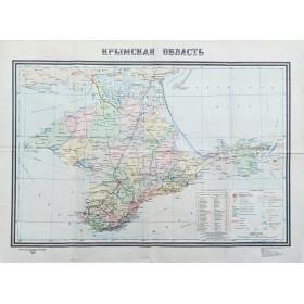 Карта Крымская область