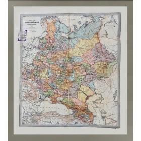 Карта Европейской России