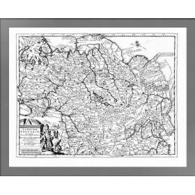 Карта Великой Тартарии 1713 года выпуска