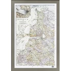 Антикварная карта северо-запада Российской Империи